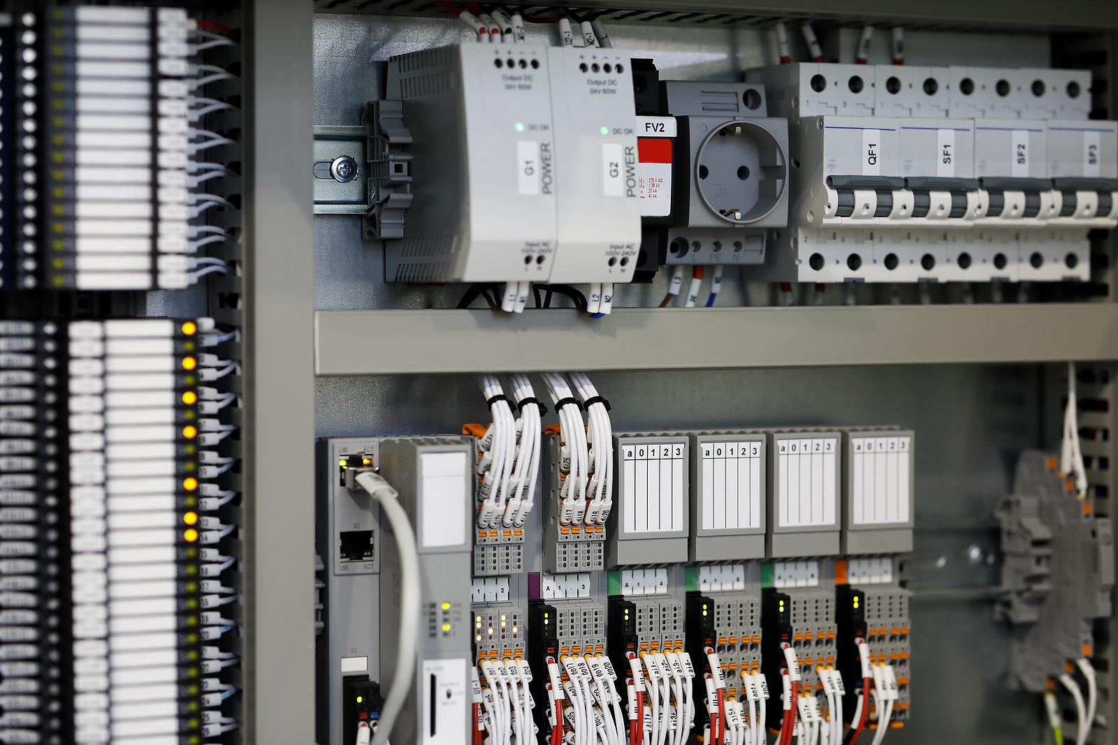 Programmable Logic Controllers Plc Based Control System. Selecti